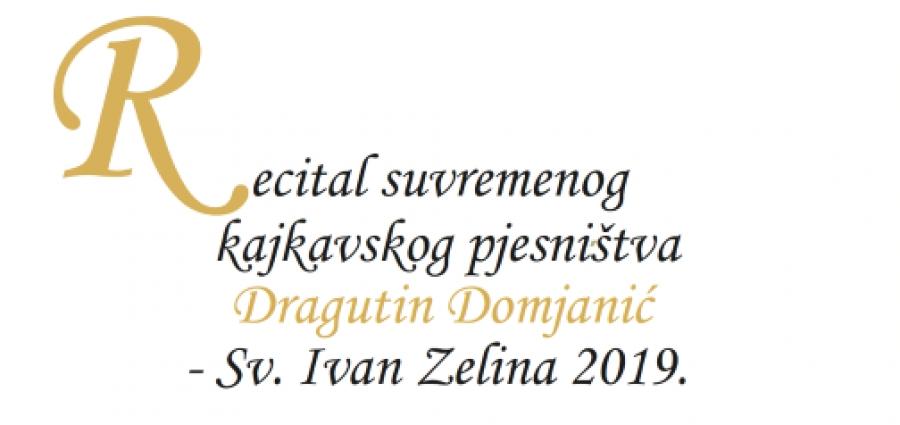Objavljen Natjecaj 38 Recitala Suvremenog Kajkavskog Pjesnistva